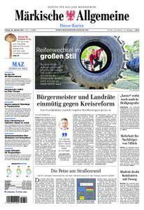 Märkische Allgemeine Dosse Kurier - 20. Oktober 2017