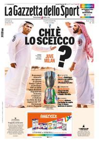 La Gazzetta dello Sport Roma – 16 gennaio 2019