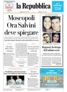 la Repubblica – 15 luglio 2019