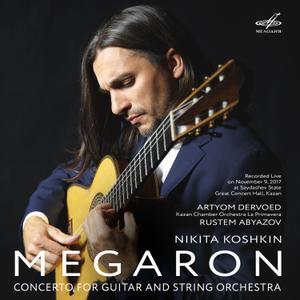 "Artyom Dervoed - Koshkin: Concerto for Guitar and Strings ""Megaron"" (Live) (2019)"