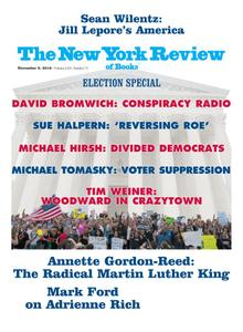 The New York Review of Books - November 08, 2018
