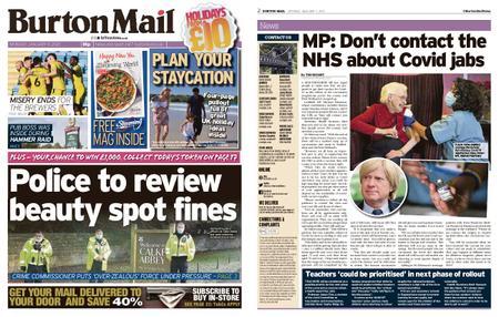 Burton Mail – January 11, 2021