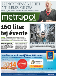 Metro [Hungary - Budapest], 24. Januar 2014