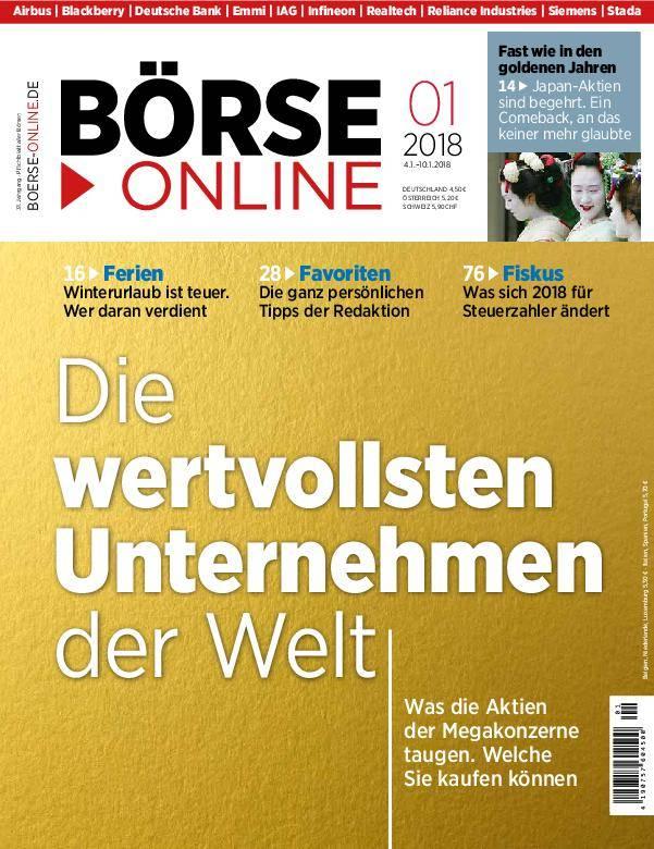 Börse Online - 04. Januar 2018
