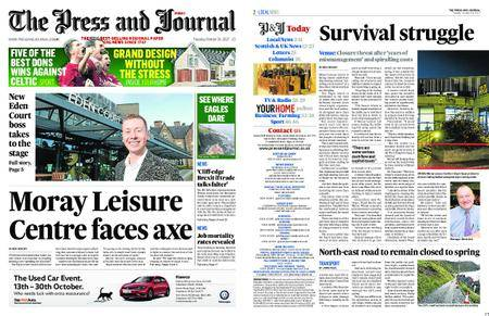The Press and Journal Moray – October 24, 2017