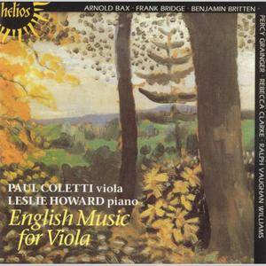 Paul Coletti, Leslie Howard - English Music for Viola (2001) Re-Up