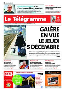 Le Télégramme Quimper – 22 novembre 2019