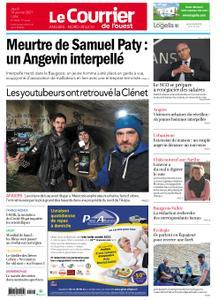 Le Courrier de l'Ouest Angers – 14 janvier 2021