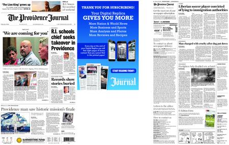 The Providence Journal – July 19, 2019