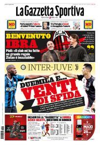 La Gazzetta dello Sport Roma – 05 gennaio 2020