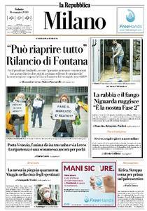 la Repubblica Milano - 16 Maggio 2020