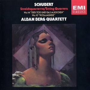 """Alban Berg Quartett - Schubert: String Quartets No.14 """"Der Tod und das Madchen"""", No.13 """"Rosamunde"""" (1985)"""