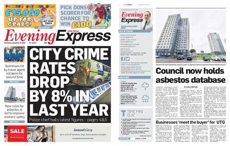 Evening Express – September 25, 2019