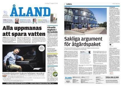 Ålandstidningen – 25 augusti 2018