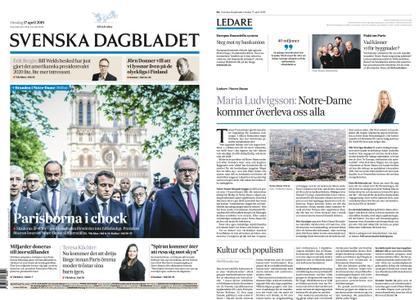 Svenska Dagbladet – 17 april 2019