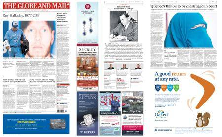 The Globe and Mail – November 08, 2017