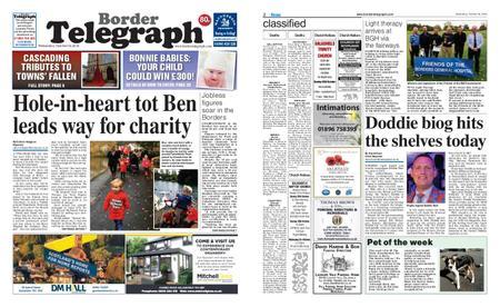 Border Telegraph – October 24, 2018