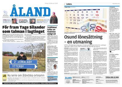 Ålandstidningen – 18 februari 2020
