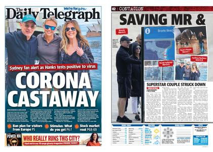The Daily Telegraph (Sydney) – March 13, 2020