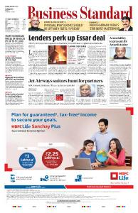 Business Standard - March 29, 2019