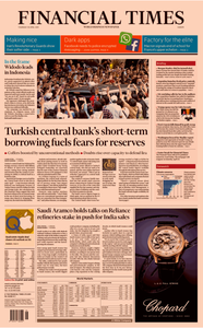 Financial Times Europe – 18 April 2019