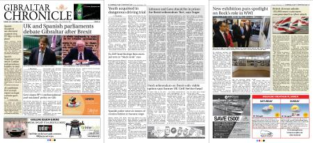 Gibraltar Chronicle – 26 October 2018