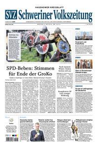 Schweriner Volkszeitung Hagenower Kreisblatt - 03. Juni 2019