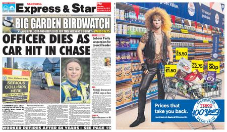 Express and Star Sandwell Edition – January 24, 2019