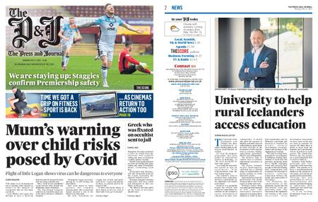 The Press and Journal Moray – May 17, 2021