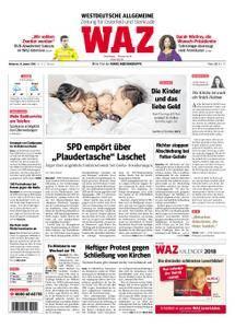 WAZ Westdeutsche Allgemeine Zeitung Oberhausen-Sterkrade - 10. Januar 2018