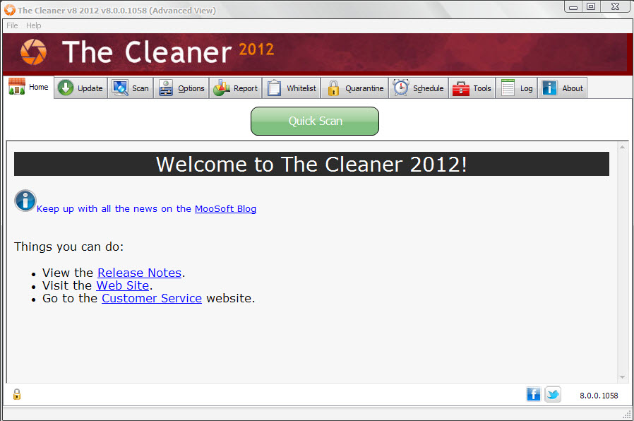 The Cleaner 2012 8.1.0.1095