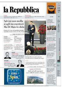 la Repubblica - 19 Novembre 2018
