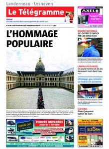 Le Télégramme Landerneau - Lesneven – 30 septembre 2019