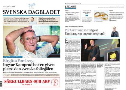 Svenska Dagbladet – 29 januari 2018