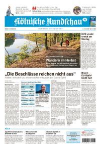 Kölnische Rundschau Wipperfürth/Lindlar – 16. Oktober 2020