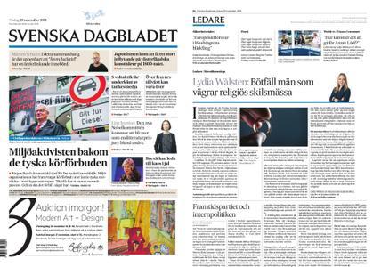 Svenska Dagbladet – 20 november 2018