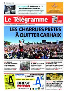 Le Télégramme Quimper – 10 janvier 2020