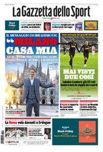 La Gazzetta dello Sport – 29 novembre 2019