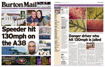 Burton Mail – October 29, 2018