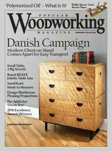 Popular Woodworking - November 2016
