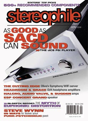 Stereophile Magazine April 2006