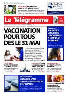 Le Télégramme Ouest Cornouaille – 21 mai 2021