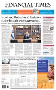 Financial Times USA - August 14, 2020