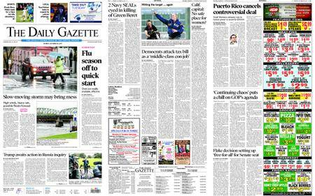 The Daily Gazette – October 30, 2017