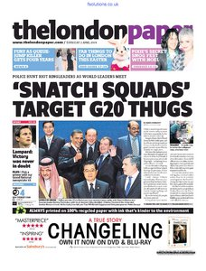 The London Paper 2 April 2009