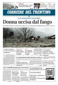 Corriere del Trentino – 31 ottobre 2018
