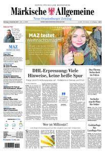 Neue Oranienburger Zeitung - 05. Dezember 2017