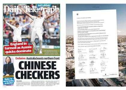 The Daily Telegraph (Sydney) – August 24, 2019
