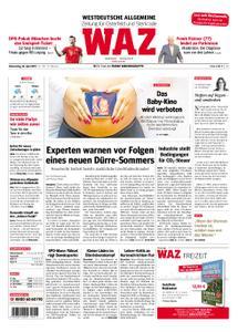 WAZ Westdeutsche Allgemeine Zeitung Oberhausen-Sterkrade - 25. April 2019