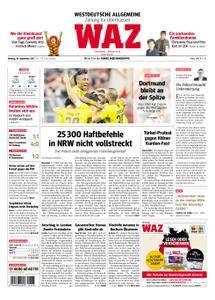 WAZ Westdeutsche Allgemeine Zeitung Oberhausen-Sterkrade - 18. September 2017